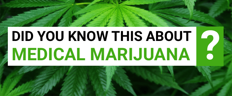 Did You Know this about Medical Marijuana?